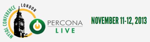Percona Live London