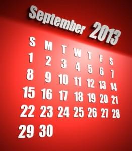 September 2013 MySQL events