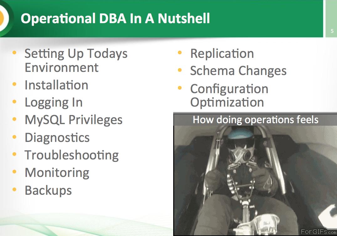 MySQL DBA Handson Tutorial