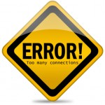 MySQL Error: Too many connections