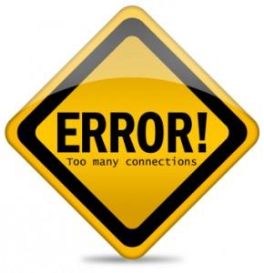 MySQL Error: Too many connections