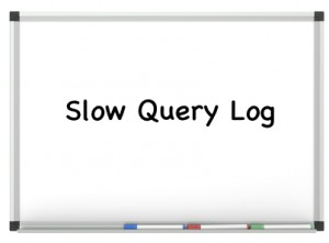 MySQL's Slow Query Log