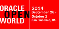 Looking forward to Oracle OpenWorld 2014; visit us at Booth 2413!