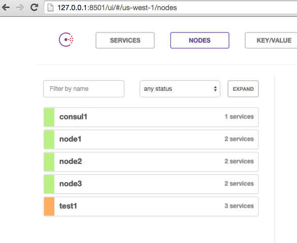 Percona xtradb cluster testing with consul and vagrant for Consul dns forwarding