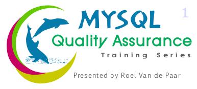 MySQL QA Episode 1