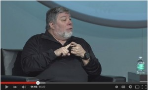 Apple legend Steve Wozniak at Percona Live 2015