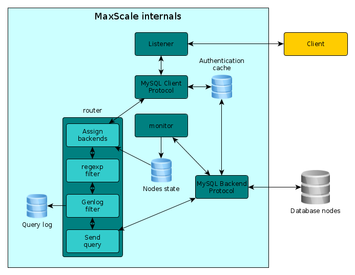 MaxScale internals