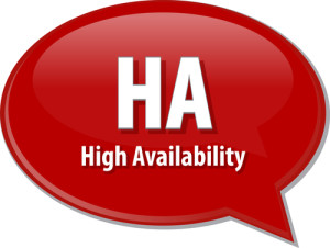 High availability with asynchronous replication