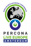 Percona Live Europe Amsterdam 2016 Tutorial Schedule