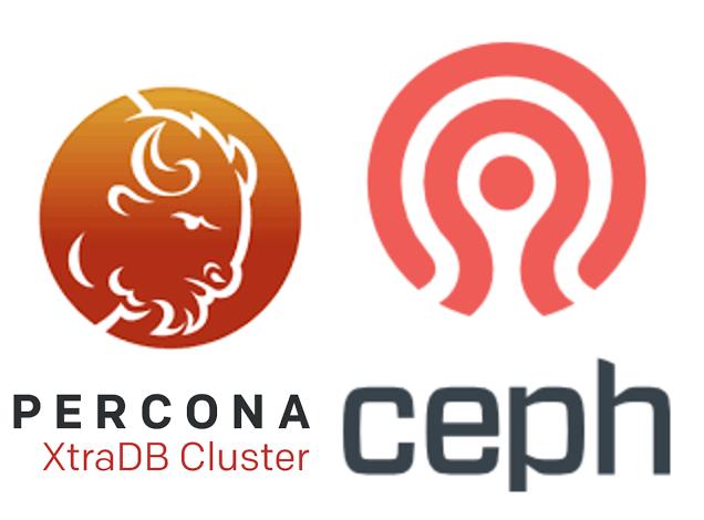 Percona Xtradb Cluster On Ceph Percona Database