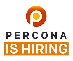 percona is hiring
