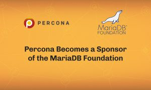 MariaDB Foundation Bronze Sponsor
