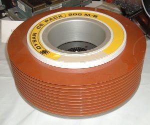 very old disk storage