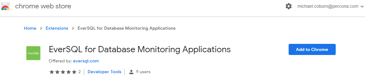 EverSQL for Database Monitoring Applications