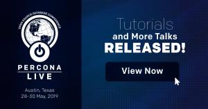 percona-live-2019-austin-tutorials-talks