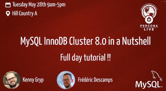MySQL InnoDB Cluster in a Nutshell