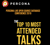 Percona Live 2019 Most Attended Talks