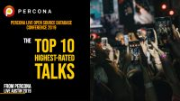 Percona Live 2019 Highest Rated Talks