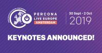 Percona Live Europe