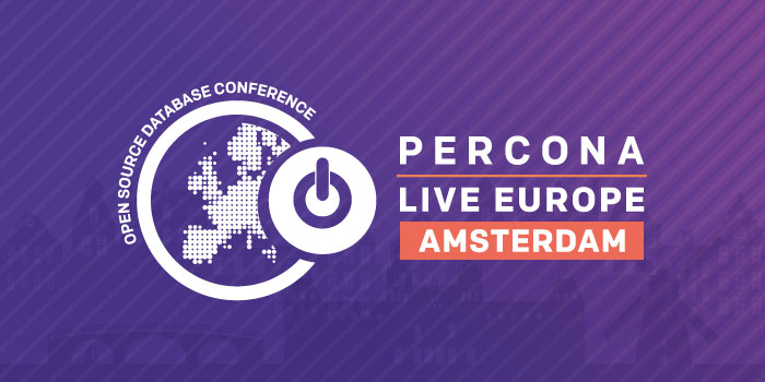 Security Matters at Percona Live Europe 2019