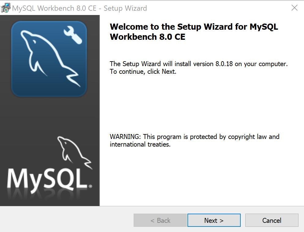Installing MySQL Workbench