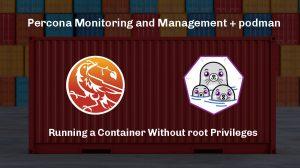 PMM server and podman