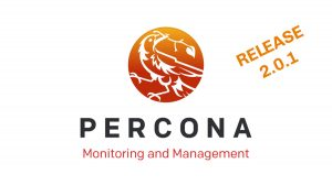 Percona Monitoring and Management 2.0.1