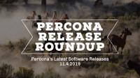 Percona Software Releases
