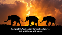 PostgreSQL Application Connection Failover Using HAProxy with xinetd