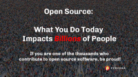 open source affects billions