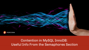 Contention in MySQL InnoDB