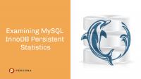 MySQL InnoDB Persistent Statistics