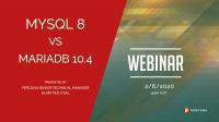 MySQL 8 vs. MariaDB 10.4