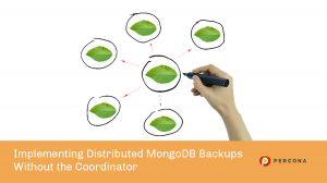distributed mongodb backups no coordinator