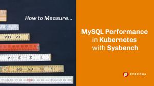 MySQL Kubernetes Sysbench