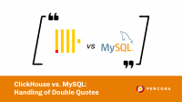 ClickHouse MySQL Double Quotes