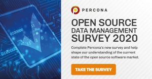 Percona Open Source Survey 2020