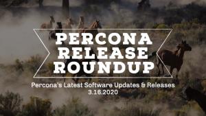 Percona Releases