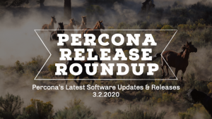 Percona Software Releases