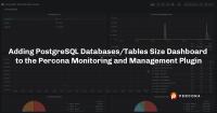 PostgreSQL Table Size PMM