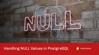 null values in postgresql