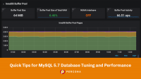 MySQL 5.7 Database Tuning