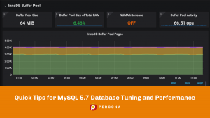MySQL 5.7 Database Tuning