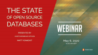 The State of Open Source Databases