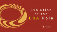 evolution of the DBA role