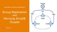 group replication percona xtradb cluster