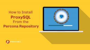 install proxysql percona repository