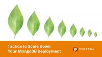 scale down mongodb deployment