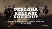 Percona Release Roundup