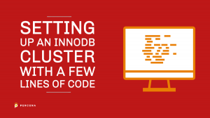 Setting up an InnoDB Cluster